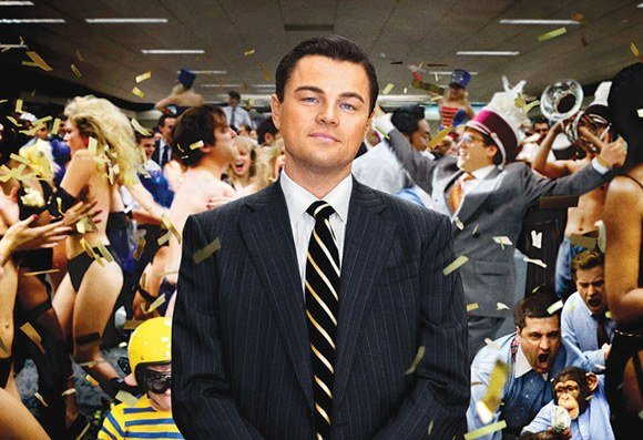 Official poster of Wolf of Wall Street
