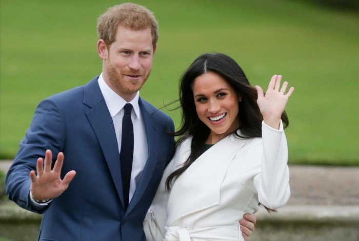 "Harry, Queen Elizabeth grandson, and Meghan, duchess of Sussex, agreed with the queen last month that they would no longer work as royals after their surprise announcement that they wanted to carve out ""a progressive new role"" which they hope to finance themselves. Credit: AFP Photo"