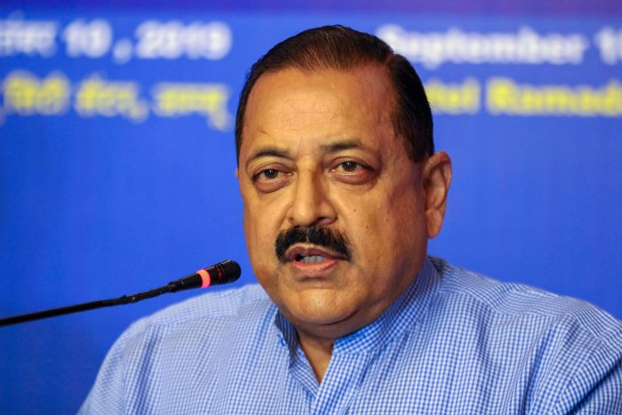 Minister of State for PMO Jitendra Singh. (PTI Photo)
