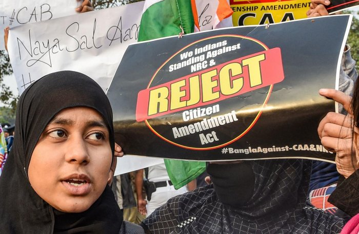 Therecalibrationof the strategy by the political parties does reflect the growing unease over the CAA protest taking a secular character going beyond the limits of Left parties and Muslims. Photo/PTI