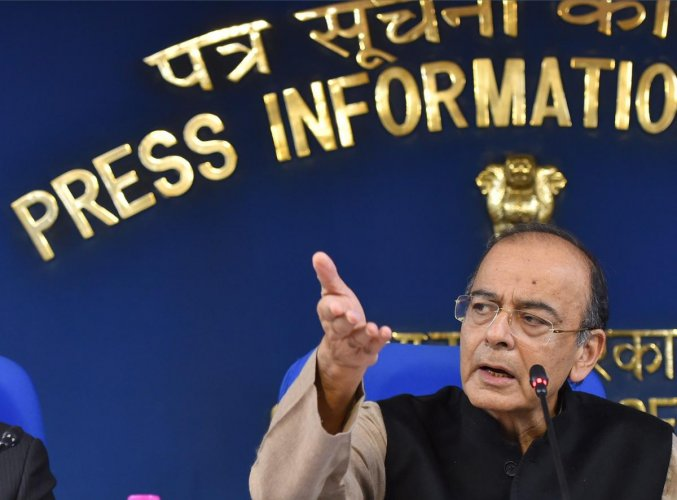 """""""I think a coordination body on a non-statutory basis like the GST Council, as a federal institution can do that job (coordination),"""" Jaitley said in a video message on Twitter. PTI File Photo"""