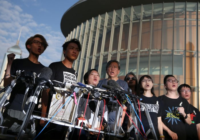 Hong Kong was braced for another mass rally Sunday as public anger seethed following unprecedented clashes between protesters and police over an extradition law, despite a climbdown by the city's embattled leader in suspending the bill.
