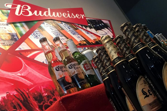 Budweiser Brewing Company (Photo by Reuters)