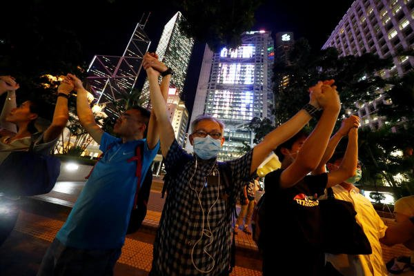 "Saturday's ""resisting tyranny"" protest is due to begin at 7 pm in Hong Kong. Representative Image/AFP"