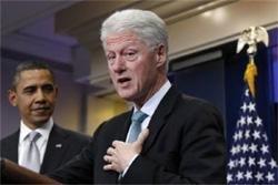 Bill Clinton endorses tax plan after Obama meeting
