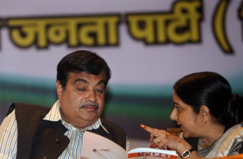 Gadkari among BJP poll campaigners in Gujarat