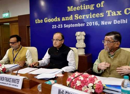 GST threshold fixed at Rs 20 lakh, rate to be decided in Oct