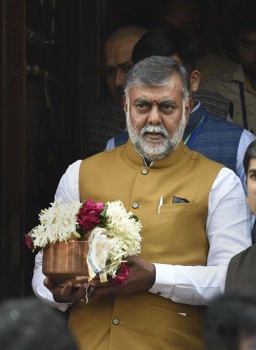 Union Culture Minister Prahlad Patel. (PTI file photo)