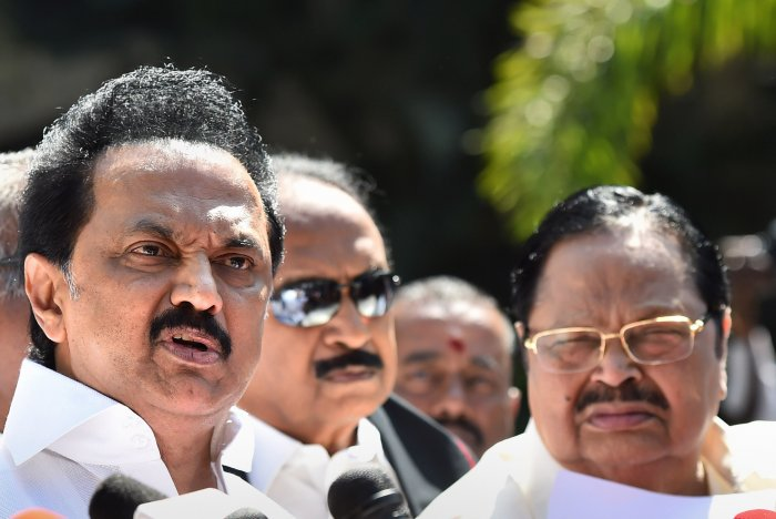SPA constituents include the Congress, MDMK and the Left parties among others. (PTI Photo)