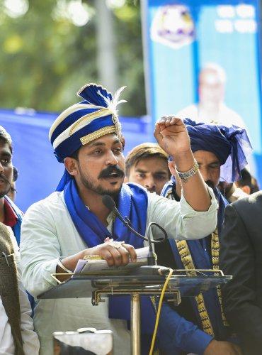 Bhim Army chief Chandrashekhar Azad. (PTI Photo)