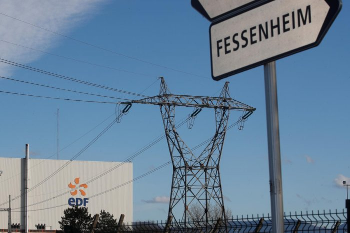 A view shows France's oldest Electricite de France (EDF) nuclear power plant near the eastern French village of Fessenheim, France. REUTERS
