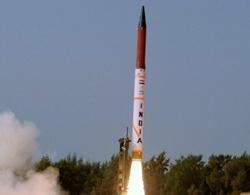 5,000-km range Agni-5 to be test fired in Feb