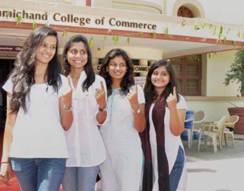 Nearly half of electors vote in Gujarat
