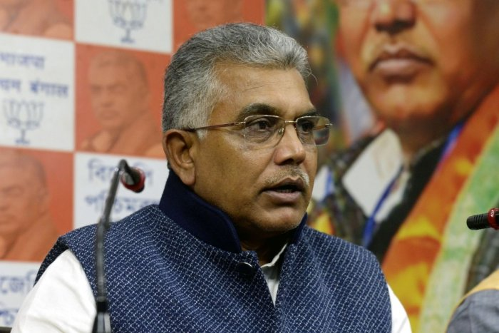 West Bengal BJP President Dilip Ghosh. (File Photo)
