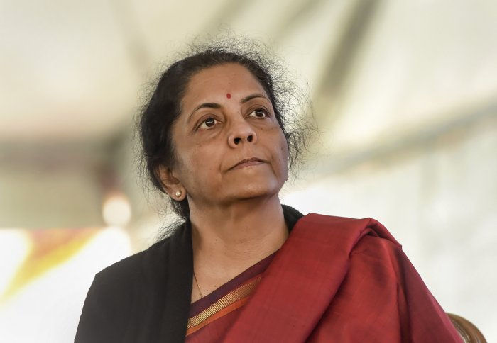 Nirmala Sitharaman. (PTI Photo)