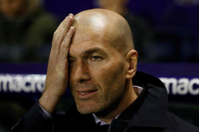 Zinedine Zidane. (Reuters photo)