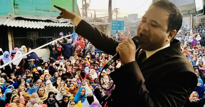 Dr Kafeel Khan was arrested on Wednesday night with assistance from Mumbai Police at the airport when he arrived in the city to attend anti-CAA protests, an official said. Credit: Twitter (@drkafeelkhan)