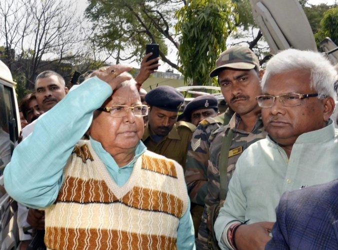 Former Bihar CM Lalu Prasad Yadav (PTI Photo)