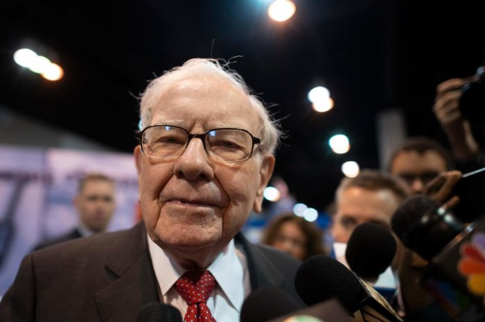 """Berkshire shareholders need not worry: Your company is 100 percent prepared for our departure,"" Buffett, 89, said in his annual letter to shareholders. Credit: AFP Photo"