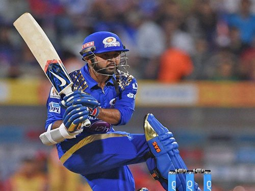 Mumbai Indians restricted to 143/8 by Gujarat Lions