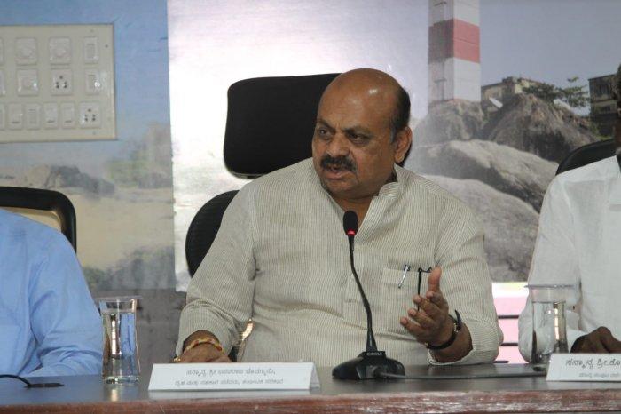 Home Minister Basavaraj Bommai
