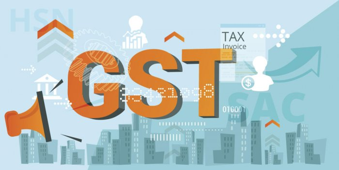 Government Tax - GST Announcement - Illustration as EPS 10 File