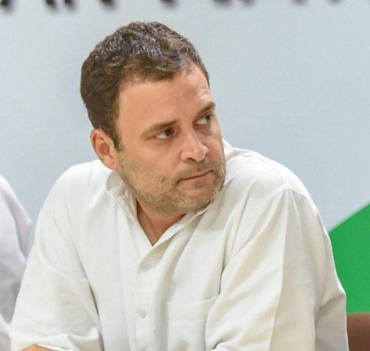 Congress President Rahul Gandhi. (AICC Photo via PTI)