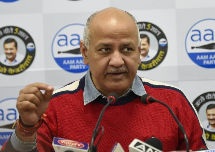 AAP leader and Delhi Dy CM Manish Sisodia