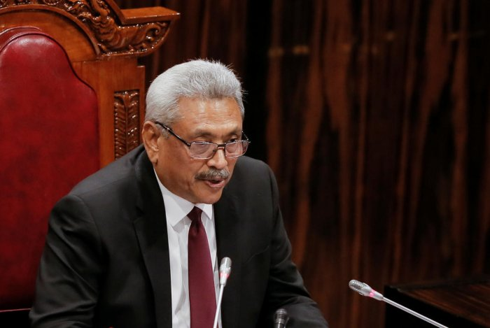 President Gotabaya Rajapaksa, a retired army officer, ordered the military to assist traffic officers at the main entry and exit points to Colombo, a city which nearly a million people enter or leave daily, a spokesman said. Credit: Reuters Photo