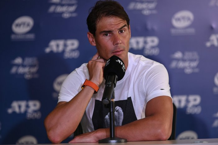 Spanish tennis player Rafael Nadal. (AFP Photo)