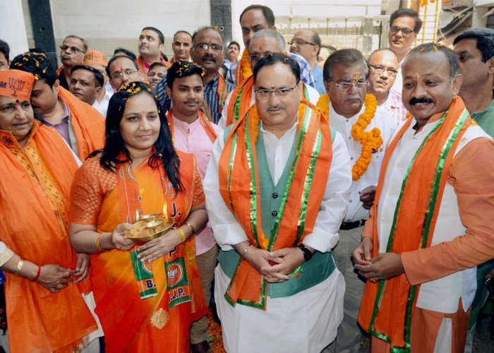 BJP starts work for Gujarat polls; Nadda may be CM face in Himachal