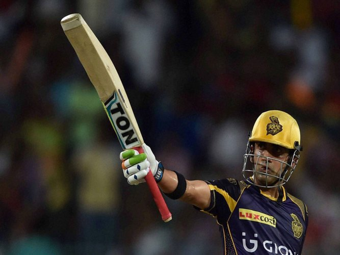 KKR cruise to 10-wicket win over Gujarat Lions