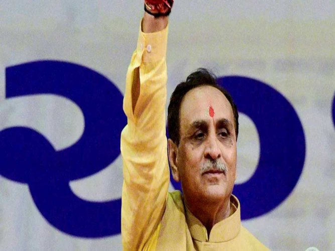 Ahmed Patel's greed to win RS poll will sink Congress in Gujarat: Rupani