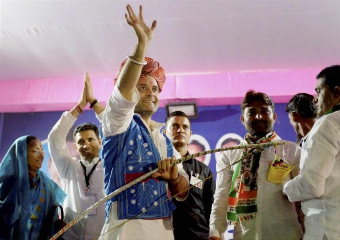 Gujarat seeking answers for 22-year BJP rule, Rahul tells PM