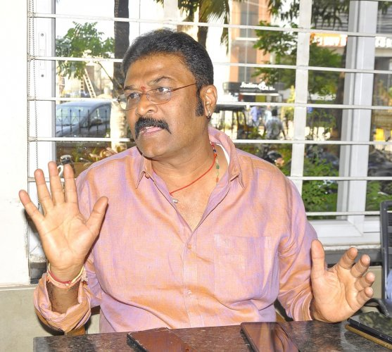Forest Minister Anand Singh