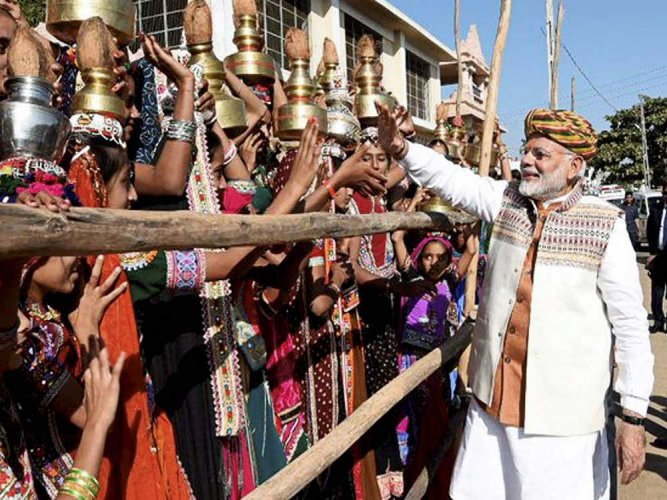 Low turnout greets Modi in Gujarat's Chalala