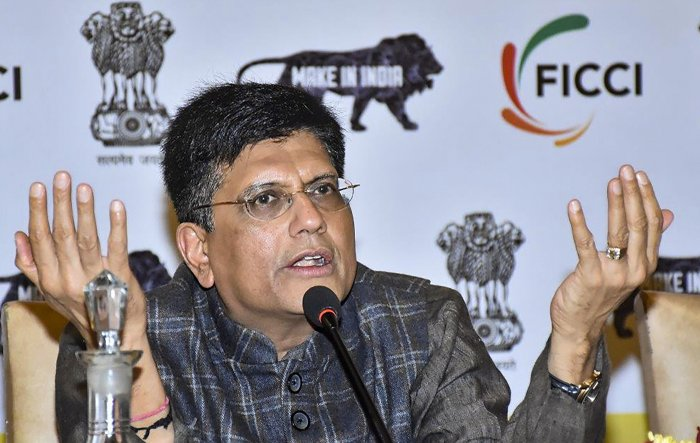 Union Commerce and Industry Minister Piyush Goyal. (PTI Photo)