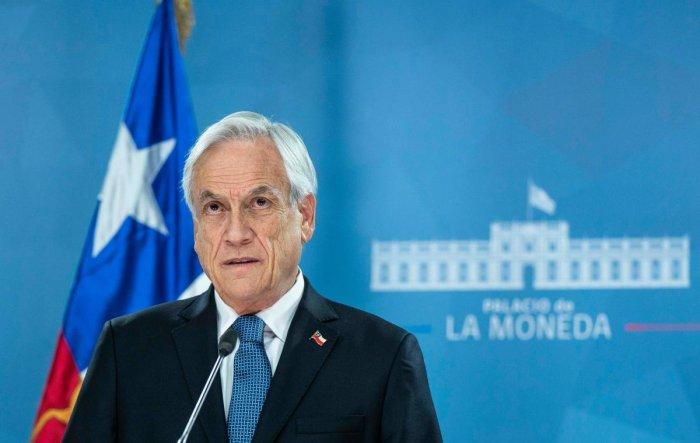 Sebastian Pinera. AFP/Chile's Presidency