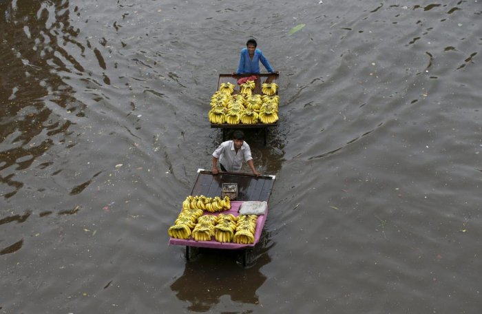 Among the worst affected areas is Umargam in Valsad district which received 22 inches of rain in the last 30 hours.
