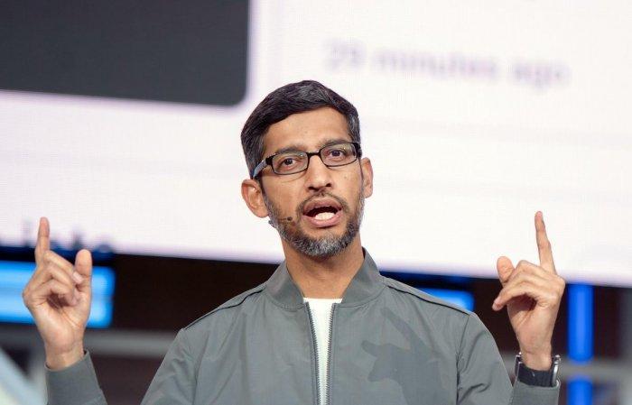 Google and Alphabet Inc Chief Executive Officer Sundar Pichai
