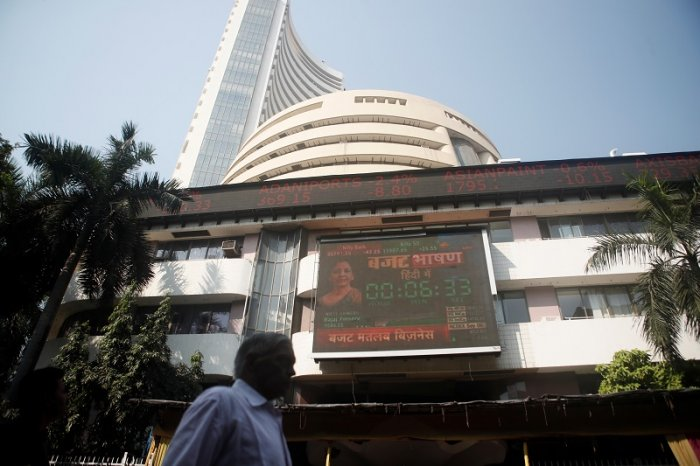Bombay Stock Exchange (BSE) building in Mumbai. (Reuters Photo)