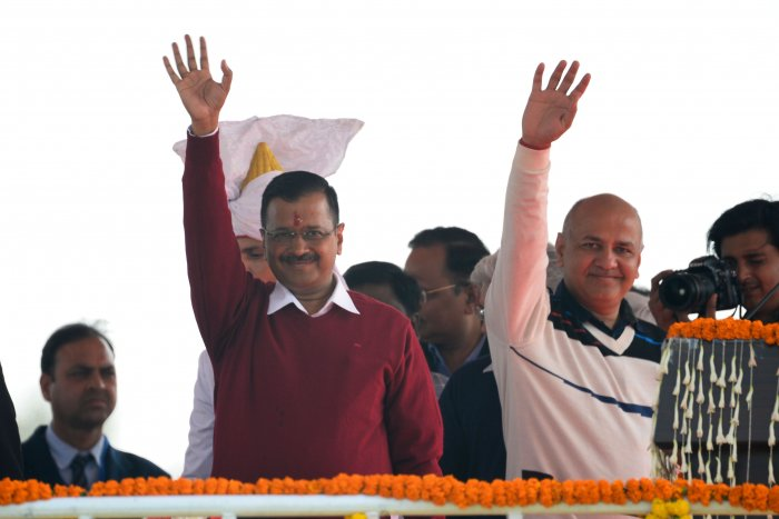 Chandra had contested against both AAP leaders in the recent Delhi Assembly polls. (Credit: AFP Photo)