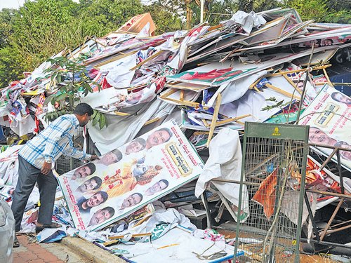 Palike pulls down about 50,000 flexes in 2 days