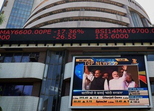 Sensex breaches 24,000 mark   in intra-trade