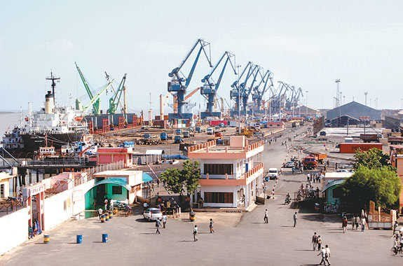 Security arrangements have been enhanced at the Kandla port in Kutch district after intelligence input claimed terrorists from Pakistan are trying to infiltrate India through Kutchch area using sea route. (File photo/Wikimedia)