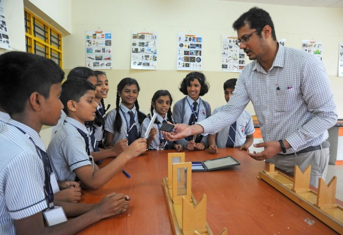 Activity based learning stimulates all the senses of the children, and they get fully involved in the learning process.