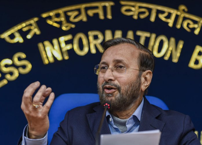 Senior BJP leader and Union Minister Prakash Javadekar