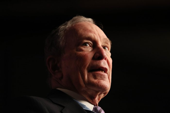 Mike Bloomberg. (AFP Photo)