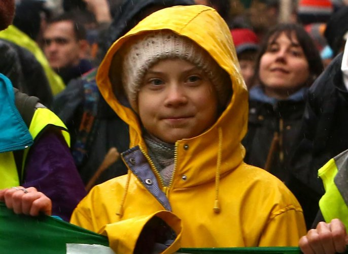 Swedish climate activist Greta Thunberg. (AFP Photo)