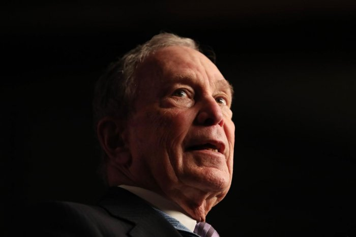 """""""What do you mean, I'm going to send a check to somebody and they're not going to cash the check? I think I wouldn't bother to send the check,"""" Bloomberg told the Houston Chronicle on Thursday."""